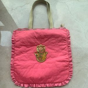 Le Sportsac Neon Pink Tote • never used